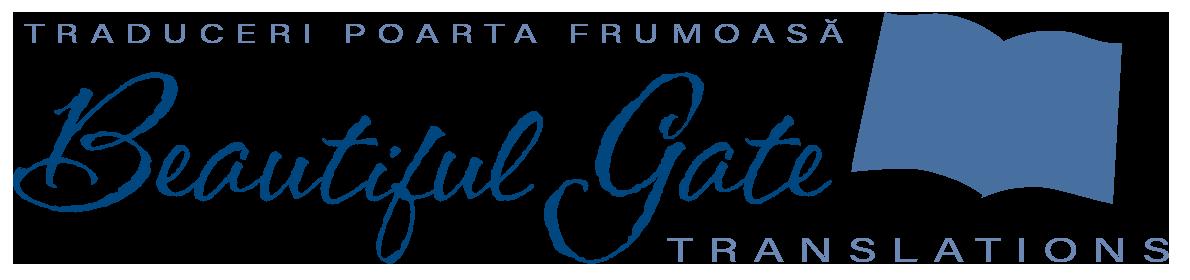 Beautiful Gate Translations Romanian